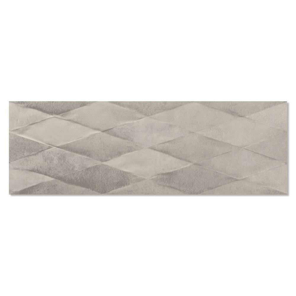 Dekor Kakel Cornwall Grå Matt-Relief 30x90 cm