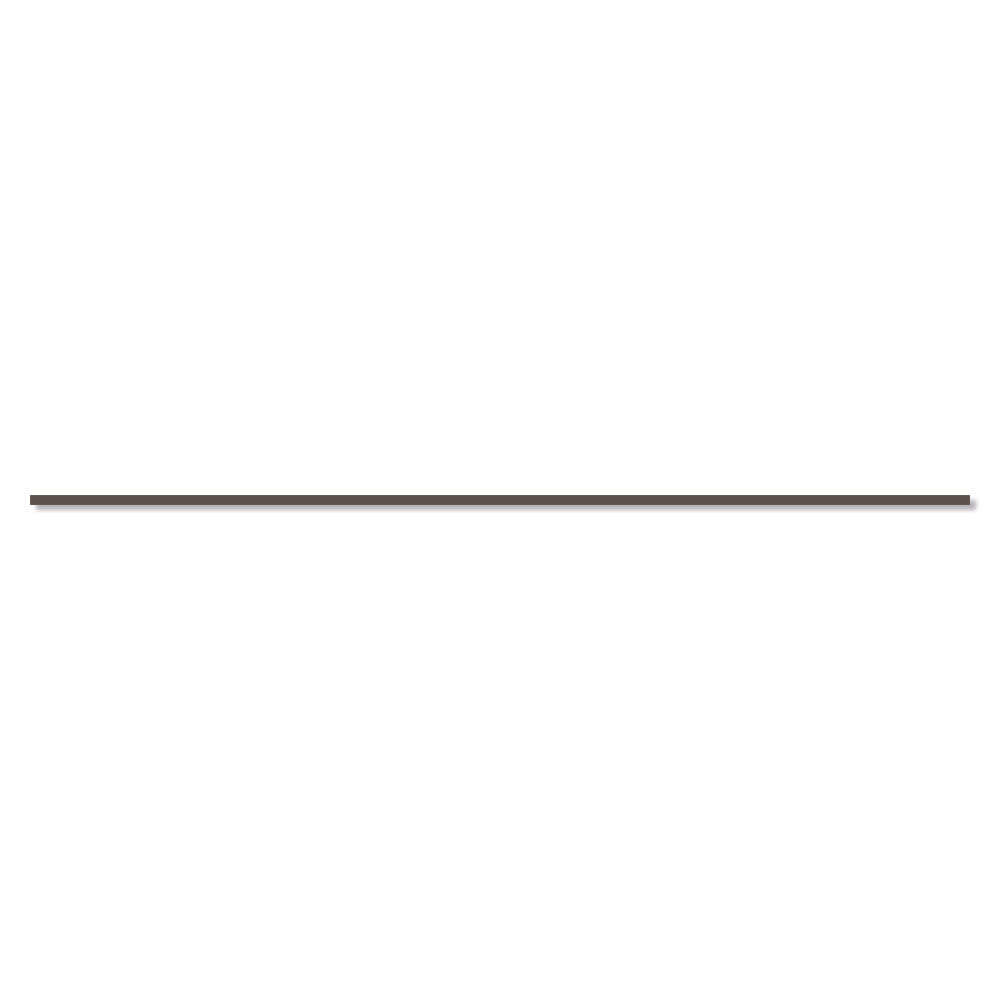 Dekor Kakel Cornwall Brun Matt 90x1 cm