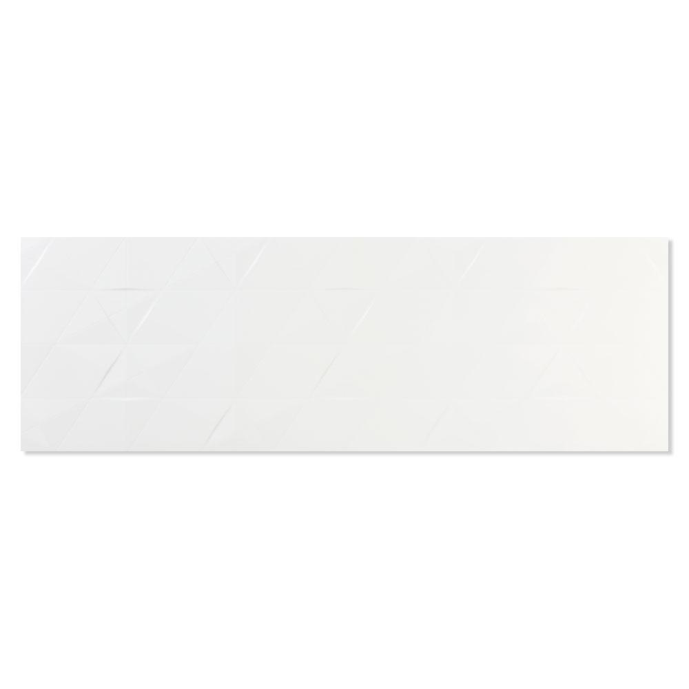 Kakel Bianchi Axe Vit Matt-Relief 33x100 cm