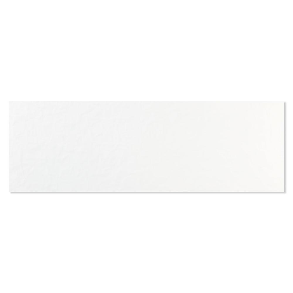 Kakel Bianchi Mia Vit Matt-Relief 33x100 cm