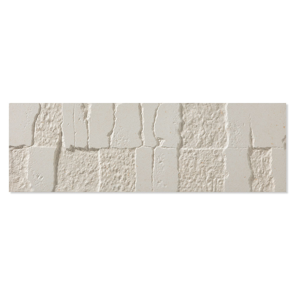 Dekor Kakel Palomastone Vit Matt 16x52 cm