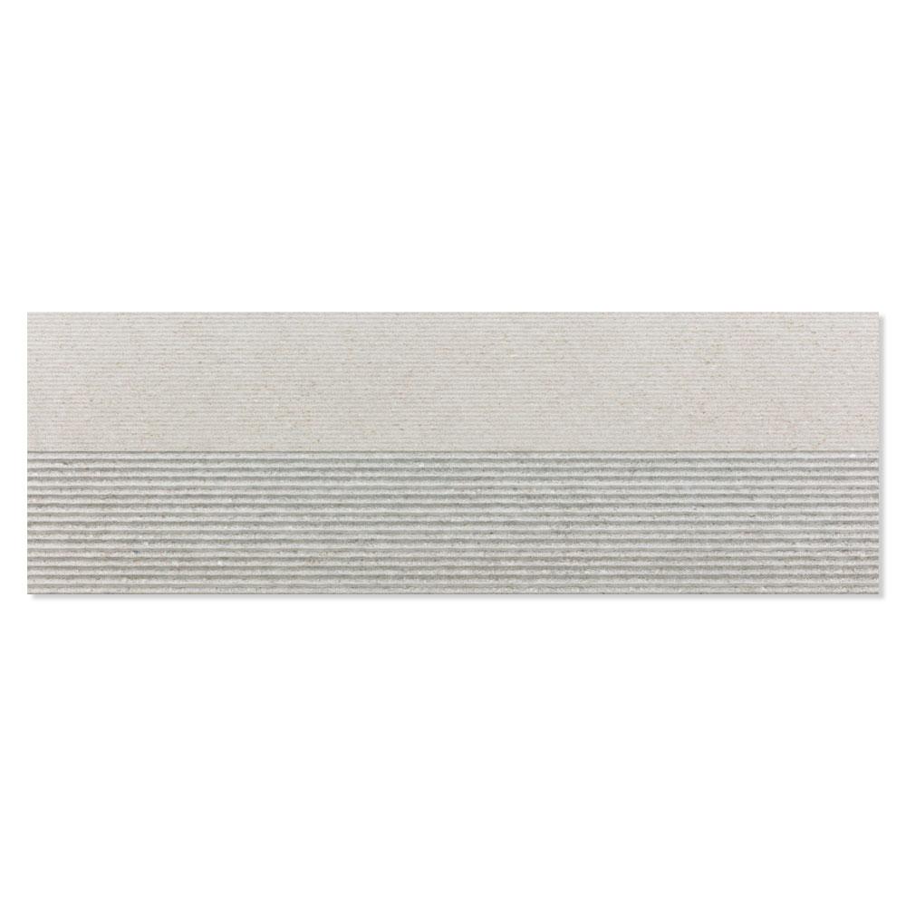 Dekor Kakel Berryroad Wall Grå Matt-Relief  30x90 cm