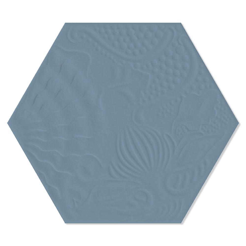 Hexagon Klinker Gaudi Grå 22x25 cm