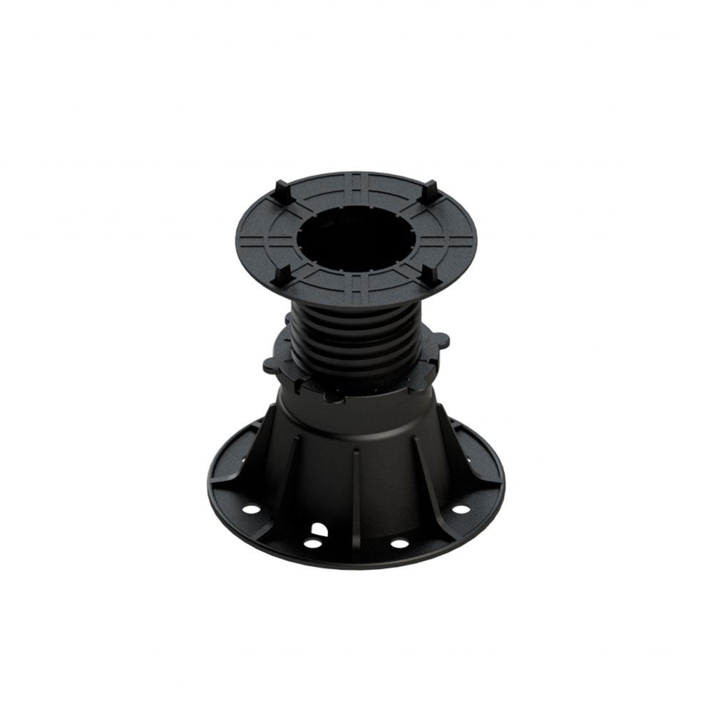 Justerbar pedestals fötter, 80-130 mm med 4 mm öppning