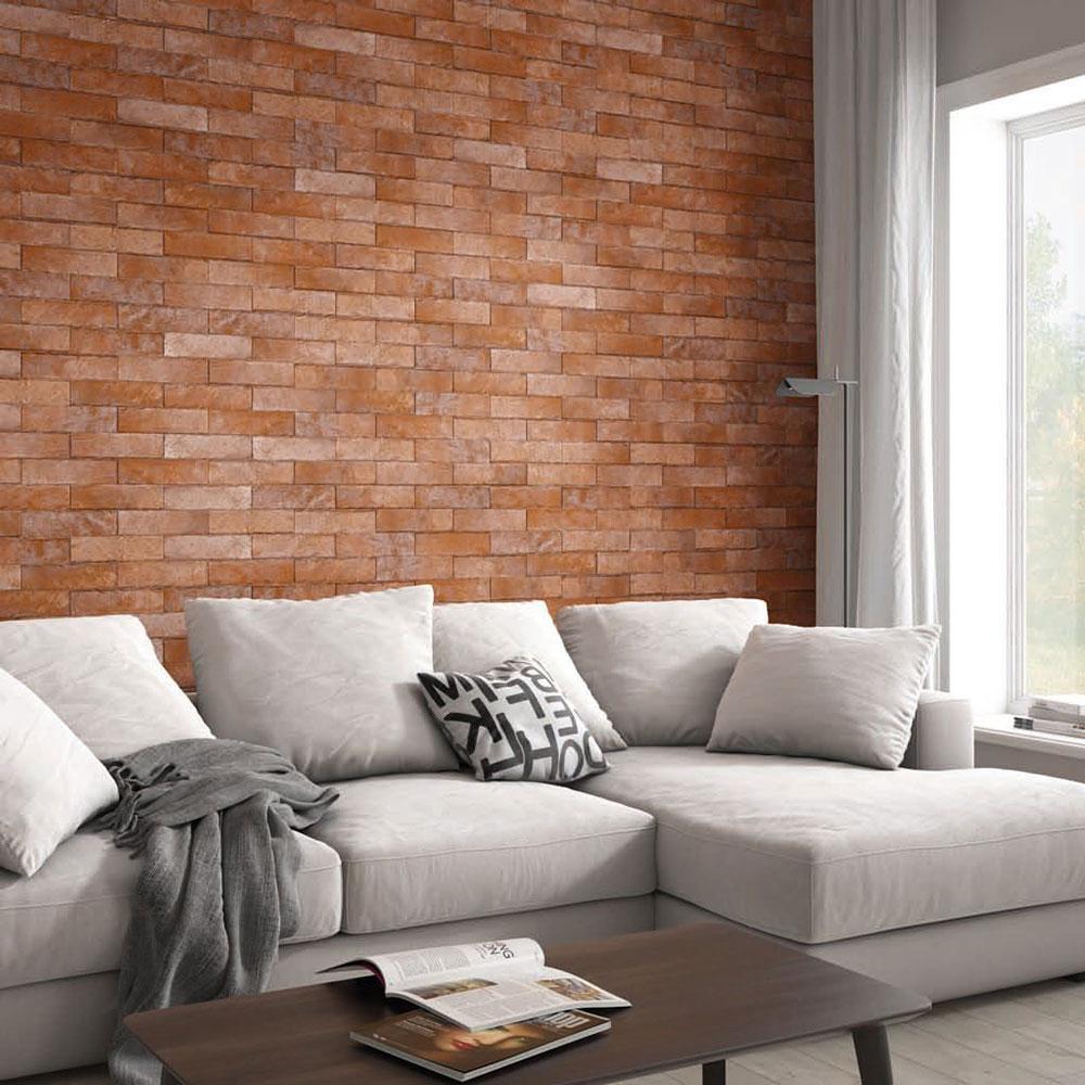 Kakel Brooklyn Brick Brons 6x25 cm