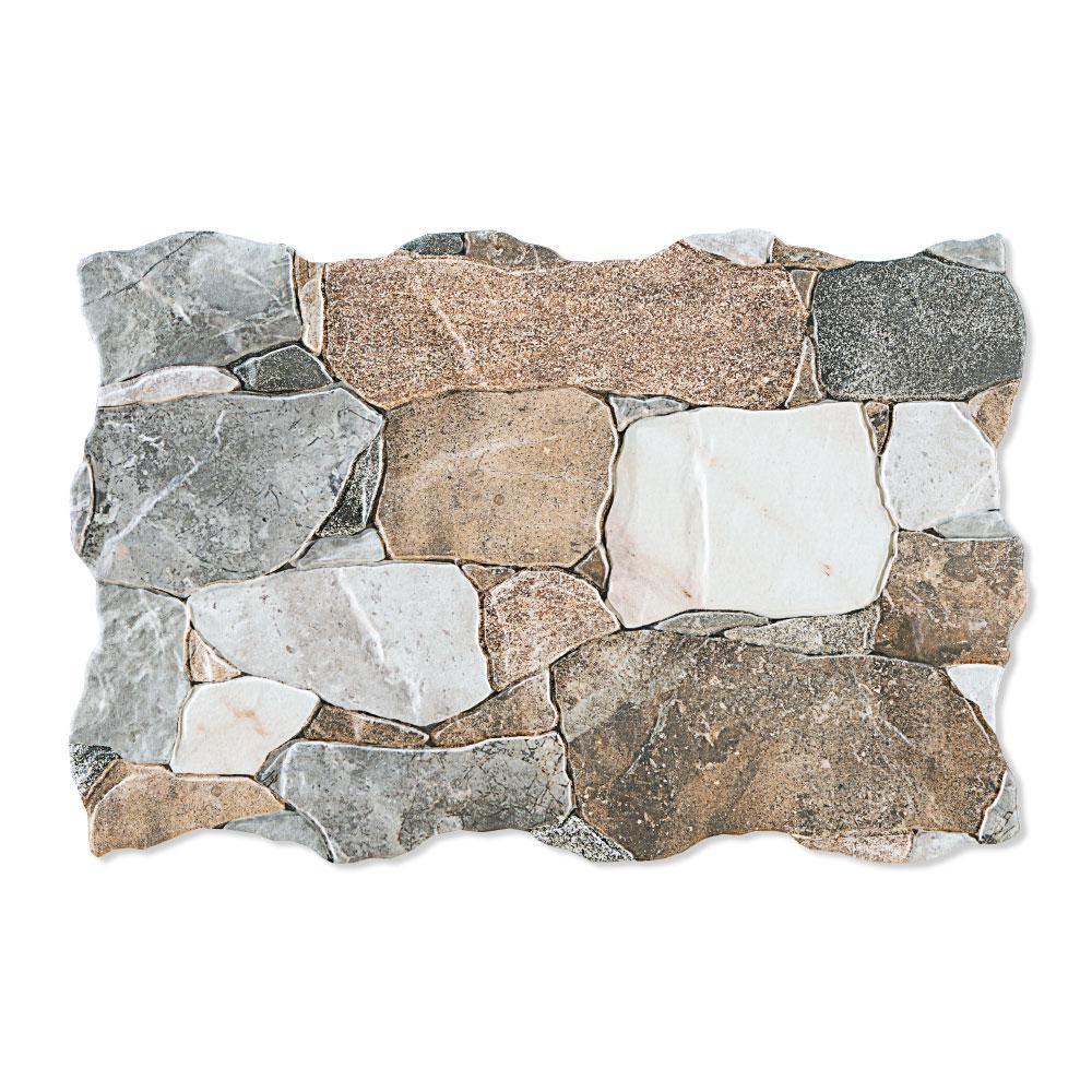 Kakel Autol Grå Blank 34x50 cm