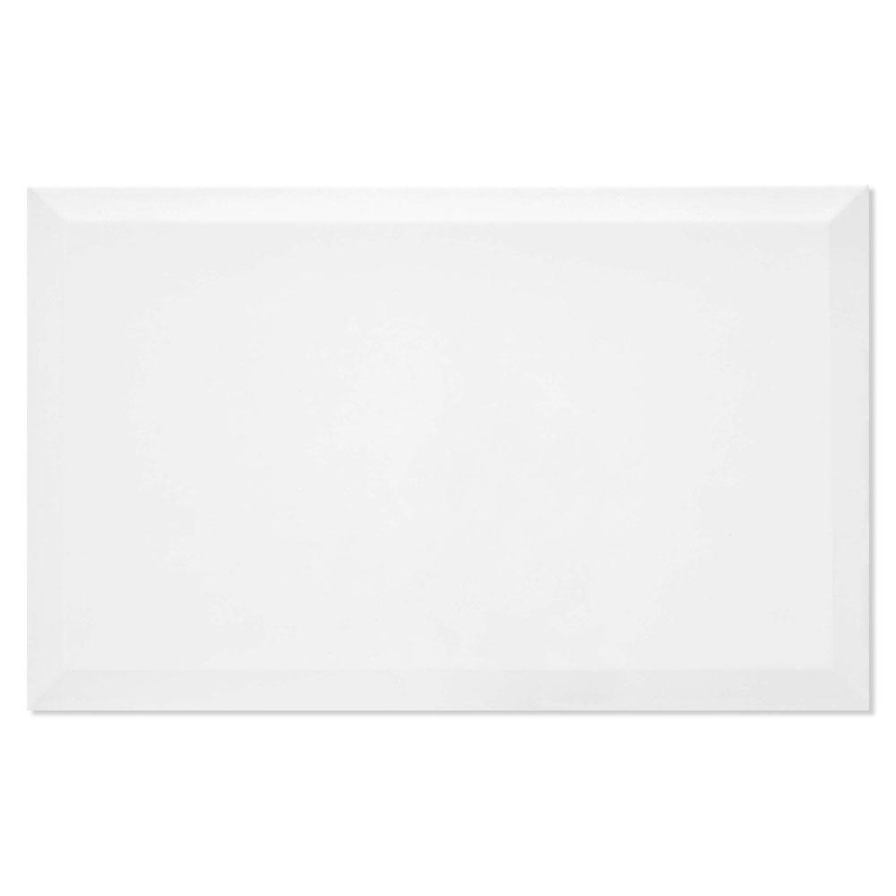 Kakel Avord Alba Vit Blank-Relief 25x40 cm