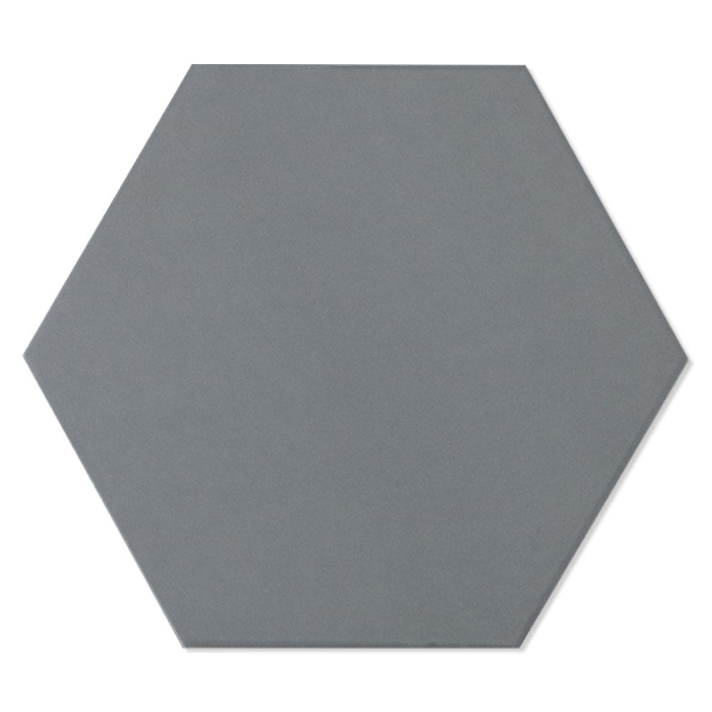 Hexagon Klinker Diorga Mörkgrå Matt 20x23 cm