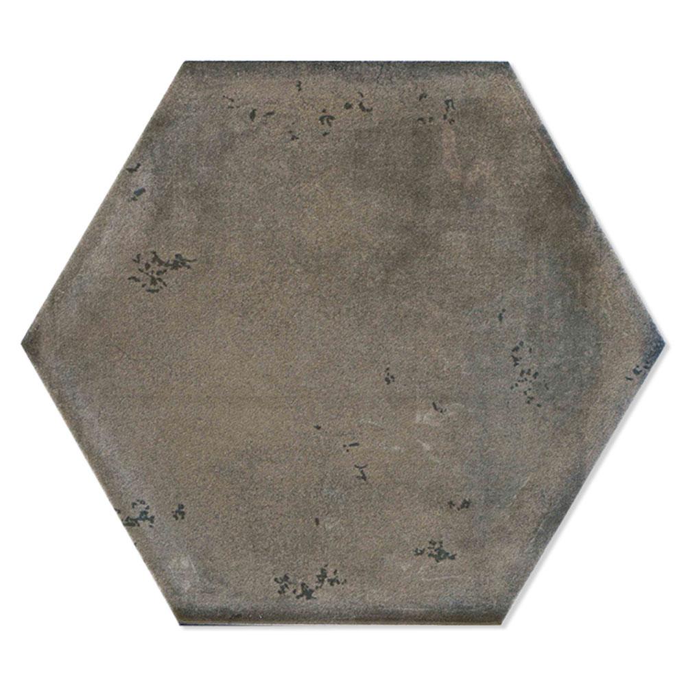 Hexagon Klinker Tesslife Mörkgrå Matt 20x23 cm
