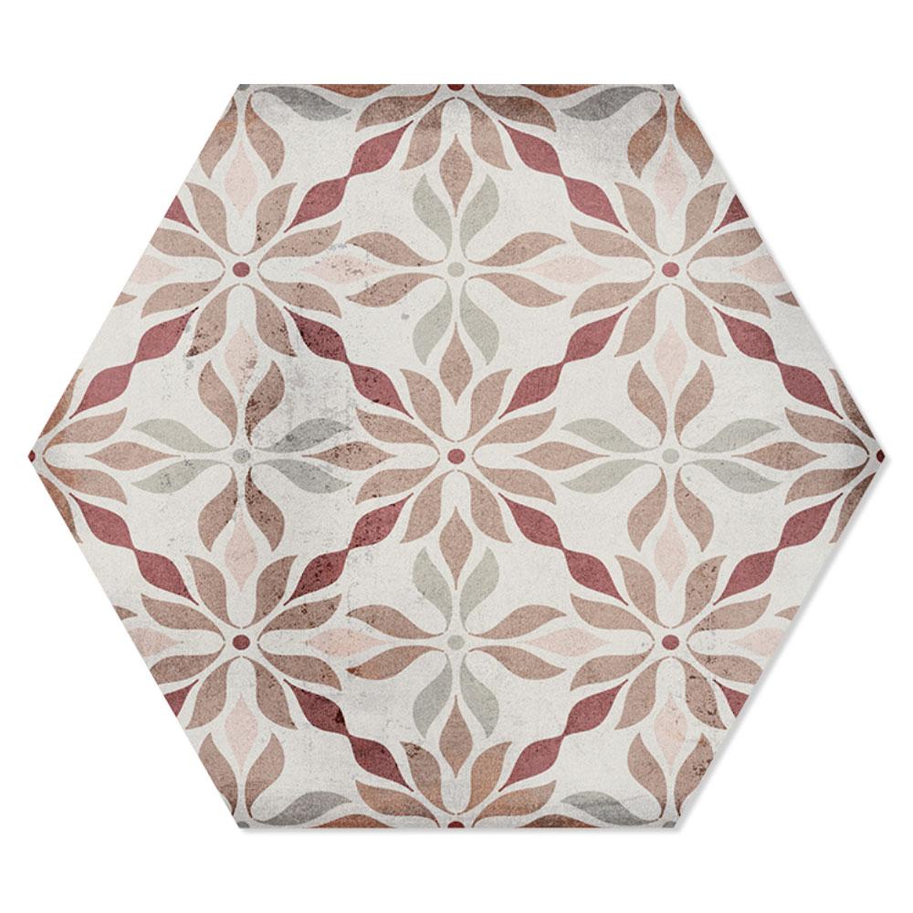 Hexagon Klinker Tesslife Flerfärgad Blank 20x23 cm